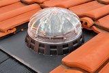 Lightway Crystal 400 HP set SCHUIN dak met Blue Performance_